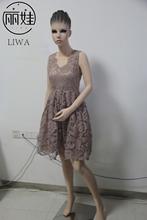 Robe De Soiree 2016 High-grade Fashion Sexy Hollow Out Lace Short Bridesmaid Dresses Wedding Party Dress Vestido De Festa   BV78(China (Mainland))