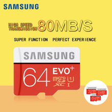 Buy 100%Original SAMSUNG EVO+ Memory Card 128GB/64GB/SDXC 32GB/16GB/SDHC Micro SD/TF 80MB/S Class10 Flash Memory Cards Free for $11.99 in AliExpress store