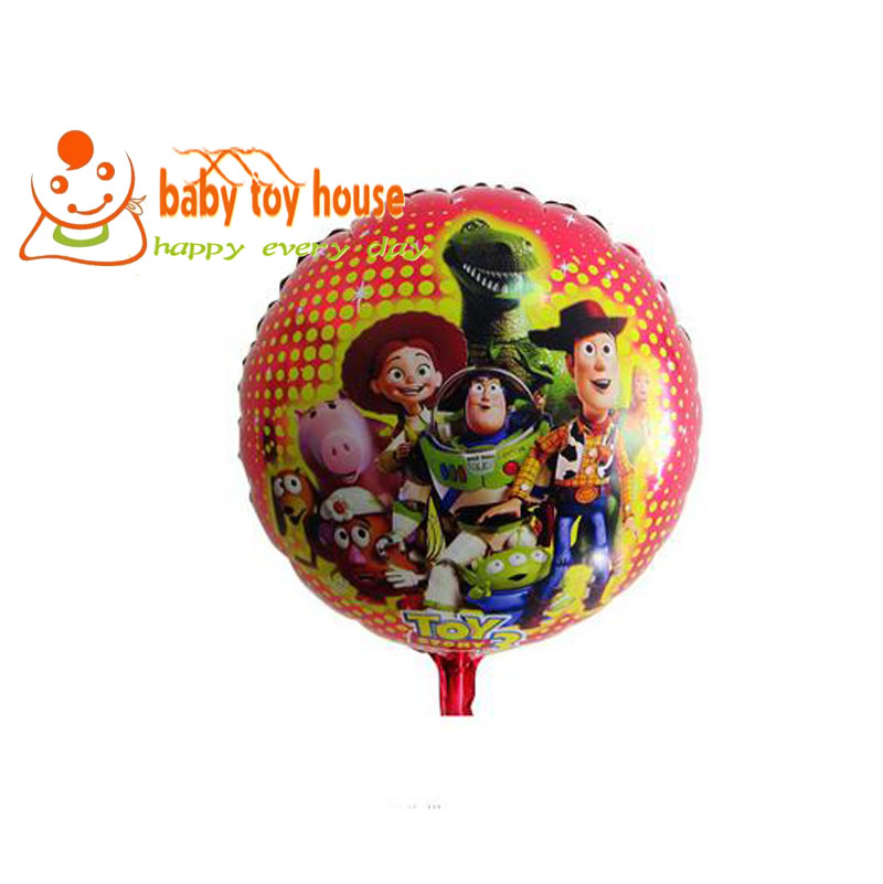 1 Pcs, Free Shipping, 18 Inch The Toy Story Rowstar Balloon, Baby Shower Foil Balloon, Party/Birthday/Wedding Decorations<br><br>Aliexpress