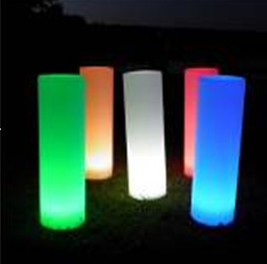 RGB remote control PE luminous furniture LED lamp use for outdoor ,home furniture, floor lamp(China (Mainland))