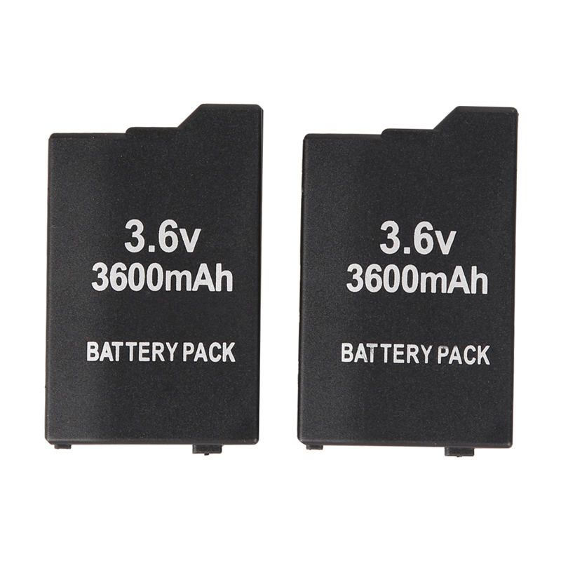 2016 Hot Selling 2x 3600mAh Replacement Battery Pack for Sony PSP Slim 2000 PSP 3000 Free Shipping A#V9(China (Mainland))