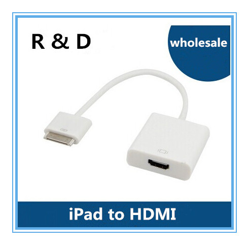 For ipad to hdmi ipad connection cable for ipad video cable 0.2m(China (Mainland))