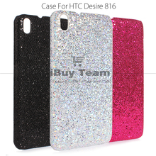 Luxury Silver Case for HTC Desire 816 A5 Bling Back Cover Durable Protective Shell for HTC Desire 800 Ultra Slim Cell Phone Case(China (Mainland))