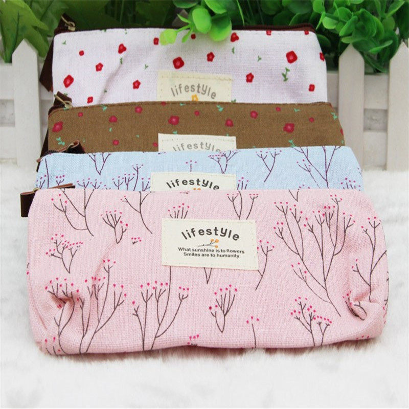 Beautician Vanity Necessaire Beauty Women Travel Toiletry Kit Make Up Makeup Case Cosmetic Bag Organizer Pouch Pencil Purse Bag(China (Mainland))