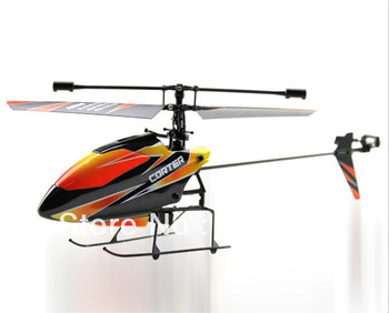 Upgrade Version V911 4CH 2.4GHZ Single Propeller Blade RC helicopter With Radio Remote Control And Built-in Gyro RTF AirplaneToy