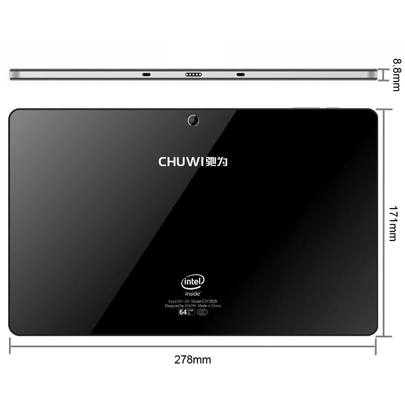 Original CHUWI Vi10 Intel Z3736F Quad Core 1 3 2 16GHz 10 6 inch Dual OS