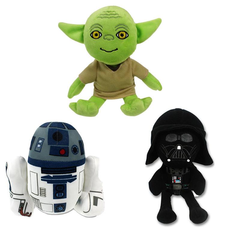 Star Wars The Force Awakens 20cm 8 Darth Vader Anakin Skywalker plush toys doll dark warrior
