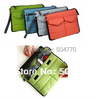 High Quality Digital Organizer Bag Ipad Camera Cellphontes Notebook Wallet bag Gadget Pouch 4 colors to choose