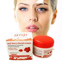 Hyaluronic acid goji face cream Chinese wolfberry medlar multi-effect anti-wrinkle cream Inhibit the activity of tyrosinase(China (Mainland))