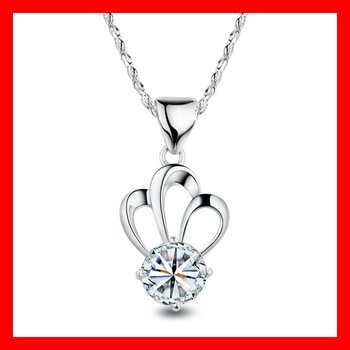 HIGH Quality Free shipping wholesale,silver pendants,REAL Amethyst or Blue Topaz 925 Sterling Silver Pendant