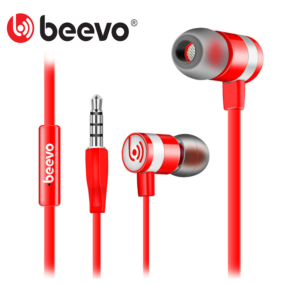Beevo EM130 In-Ear Earphone Special Edition Headset Go Pro Earphones Clear Bass Earphone With Microphone 4 Colors fone de ouvido(China (Mainland))