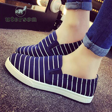 Good quality 2016 Hot superstar Ladies casual shoes fashion new striped ultra boost flat shoes free delivery(China (Mainland))
