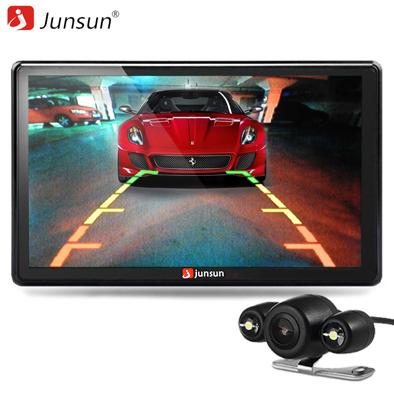 Junsun 7 inch Car GPS Navigation Bluetooth 8GB with Rear view Camera FM MP3 MP4 800MHZ Detailed Maps navigator with Free Updates(China (Mainland))