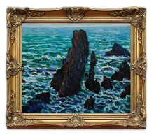 Shipping Wooden Oil Painting