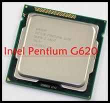 CPU 100 Original Processor desktop for intel Pentium Dual Core G620 2 6GHz LGA 1155 3MB