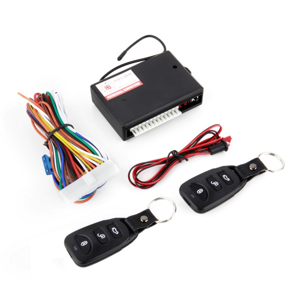 Hot Universal Car Remote Central Kit Door Lock Vehicle Keyless Entry System with high quality(China (Mainland))