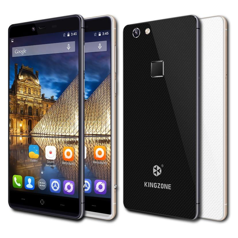 Original Kingzone K2 4G LTE 1920x1080 FHD Mobile Cell Phone Android 5.1 Octa Core RAM 3GB+ROM 16GB Dual SIM 8MP+13MP Fingerprint(China (Mainland))