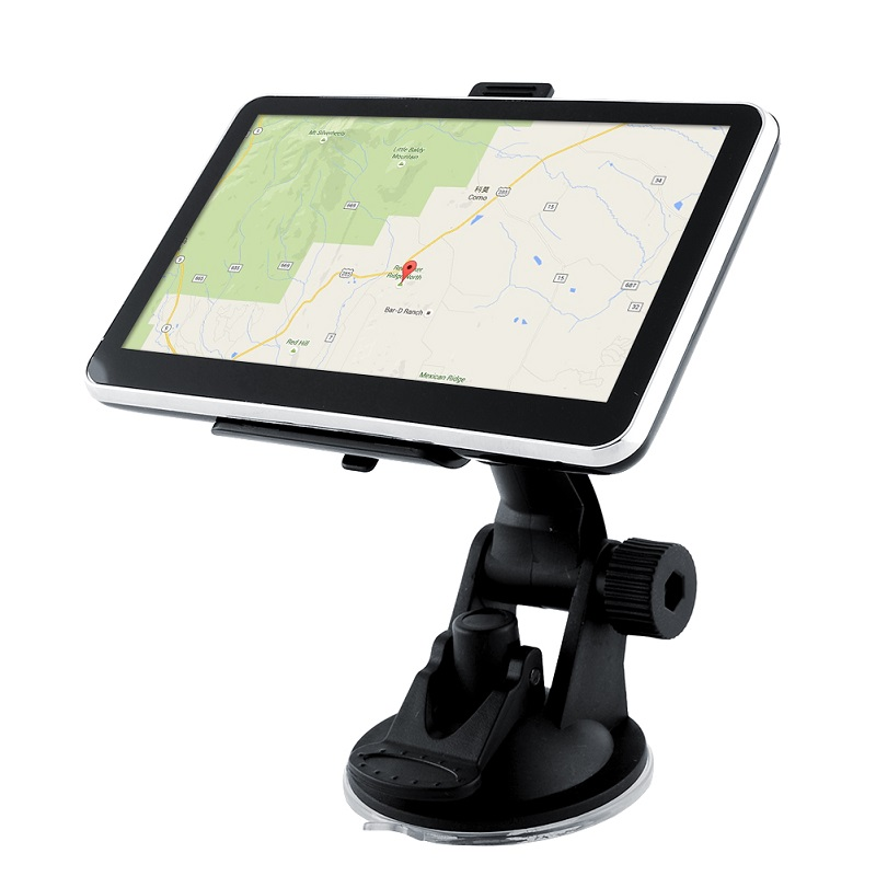 Dual Core 5 inch Car GPS Navigation FM transmitter 4GB Bundle Home Charger latest maps(China (Mainland))
