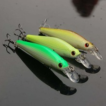 Buy Hot sale 8.5cm 9g black bass lures swim bait artificial minnow fishing bait tackle fishing bait isca 3pcs free shipping for $6.53 in AliExpress store