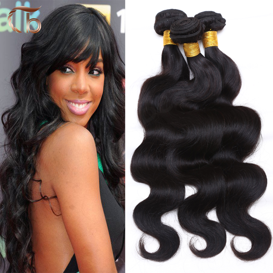 Unprocessed brazilian virgin hair body wave 4pcs per lot human hair weave bundles customized 8-30 inches hair extensions(China (Mainland))