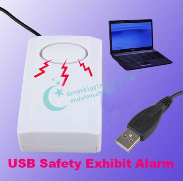 USB Anti Theft For Mall Office Laptop And Digital Exhibit Alarm Plug And Play Hot Drop Shipping/Free Shipping Wholesale(China (Mainland))