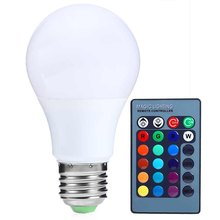 New Arrival RGB Led Spot Bulbs Light E27 15W 150LM Dimmable RGB LED Bulb with Remote Control 85-265V Led RGB Lamp High-efficient(China (Mainland))