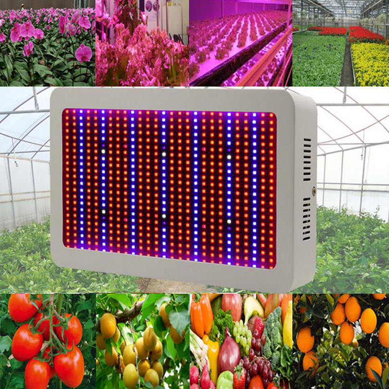 Full Spectrum 600W LED Grow Light Red/Blue/White/UV/IR AC85~265V SMD5730 Led Plant Lamps Best For Growing and Flowering(China (Mainland))