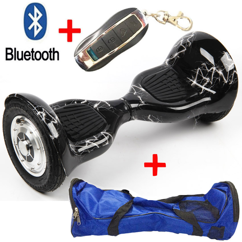 MAOBOOS 10 inch 50% discount Smart 2 Wheels Electric Self Balancing Scooter Bluetooth+Bag+Remote Hoverboard Unicycle