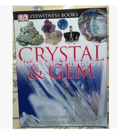 Free shipping 2015 New Hot Saler Crystal and gemstone foreign English Wikipedia original English book reading science books<br><br>Aliexpress
