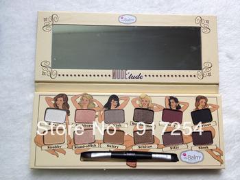 The Balm Nude Tude 12 Colors eye shadow Makeup Palette 12 Colors Nude Eyeshadow 11.08G Free Shipping Eye Beauty Set