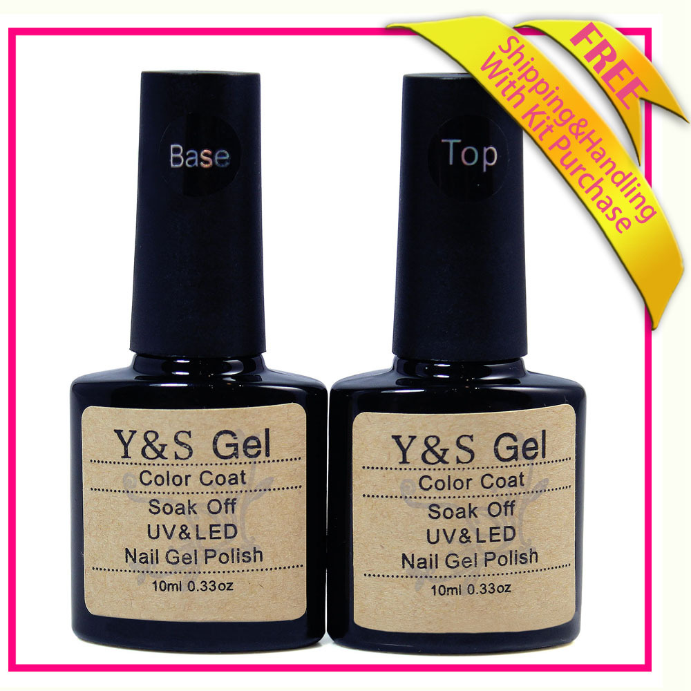 2015 New uv gel top coat base gel 100% new 10 ml g...