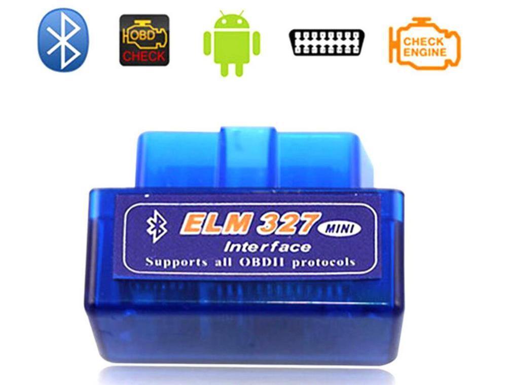 P16 ELM327 mini Bluetooth OBDII OBD2 v2.1 Diagnostic Scanner Can-Bus ELM 327 Scantool Check Engine Light Car Code Reader Tester(China (Mainland))