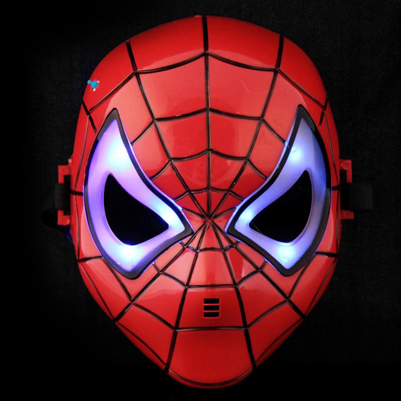 Newest Hot Halloween Mask Children's Cartoon Mask Spider-man Toy Spiderman Mask(China (Mainland))