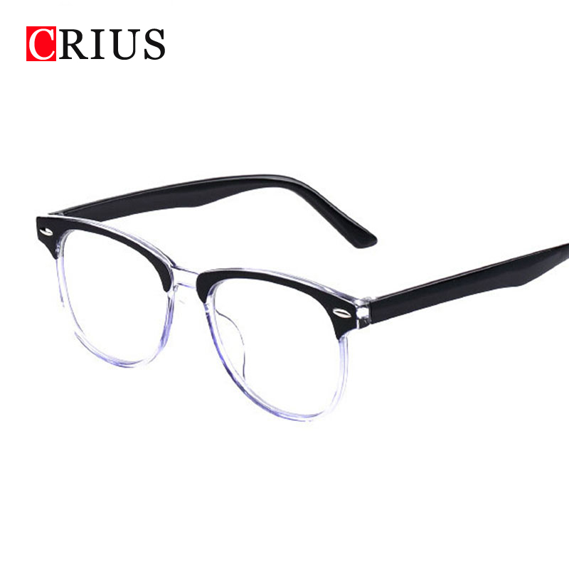 Glasses Frames For Men : D Womens Mens Optical glasses frame eyeglasses eye ...