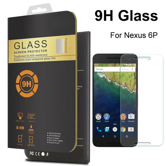 Для Google Nexus 5x-экран протектор 0.26 мм передняя премиум закаленное стекло для Huawei Nexus 6 P ультра-тонких защитная пленка