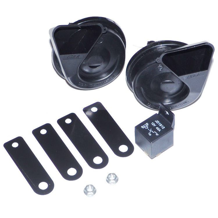 Universal 110db 12V Vehicle Car Motorcycle Snail Horn Super Loud Speaker Multitone Horn High Bass Horn Free Shipping 12001337(China (Mainland))