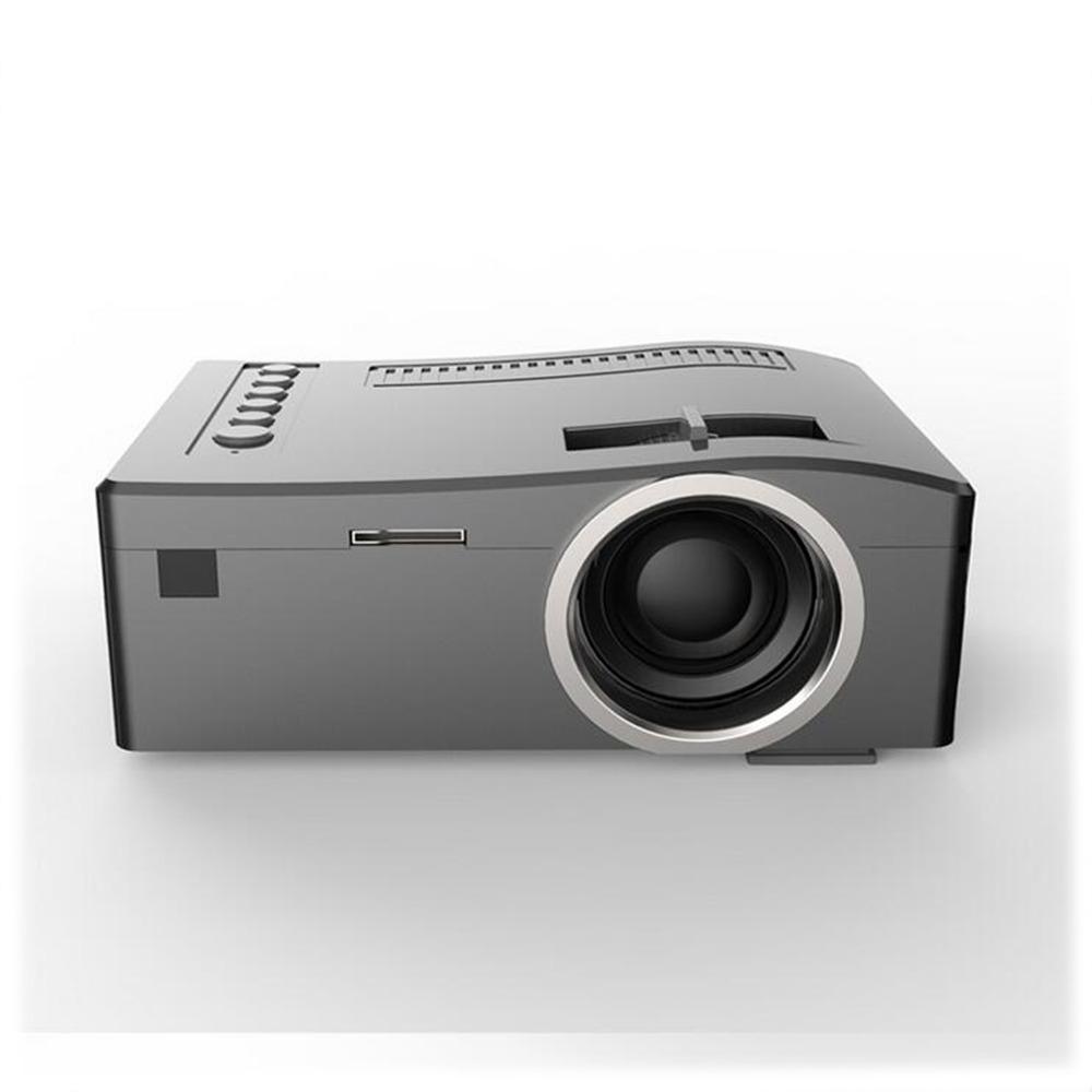 Uc18 mini lcd 320 180 support 1080p video original for Small portable video projectors