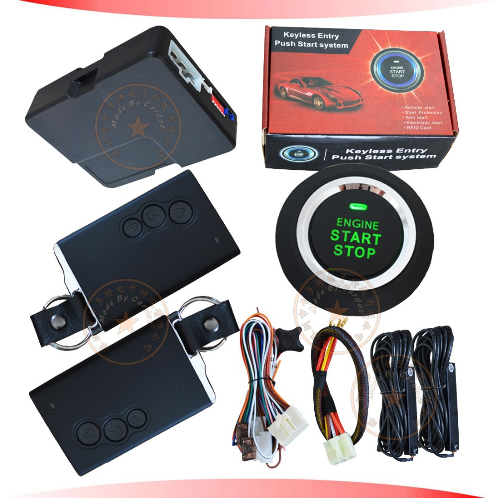 NEW passive keyless entry&push button start system auto window up output smart anti-hijacking 3D pke antennas(China (Mainland))