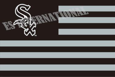 Chicago White Sox Flag With No Stars Stripes MLB Flag 3x5 ft custom Banner 90x150cm Sport flag Stainless Steel Grommets ES438(China (Mainland))