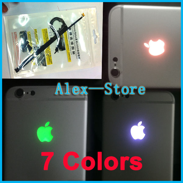 led light logo mod kit for apple iPhone 6 Plus Logo Mod Led Flash Lamp Logo Free Shipping (do not include housing)(China (Mainland))