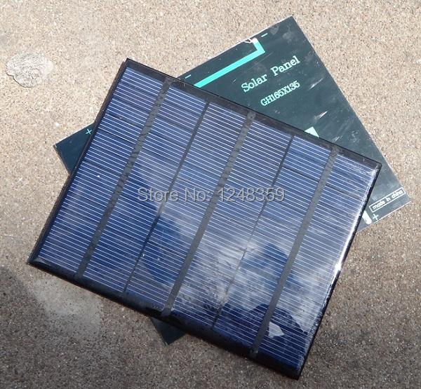HOT! 3.5Watt 18V Mini Solar Cell Polycrystalline Solar Panel DIY Panel Solar Power 12V Battery Charger 165*135*3MM Free Shipping(China (Mainland))