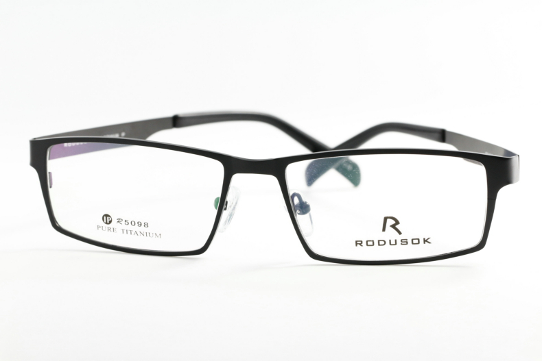 Eyeglass Frames Popular Styles : RODUSOK Titanium Wonderful Reading Eyeglass Frames For Men ...