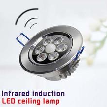 LED motion sensor ceiling light uses bathroom hallway Aluminum material ceiling light fixture lamp(China (Mainland))