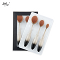 Anmor Brand 3 Pieces Foundation Brush Kit High Quality Oval Makeup Brush Extremely Soft Makeup Brush