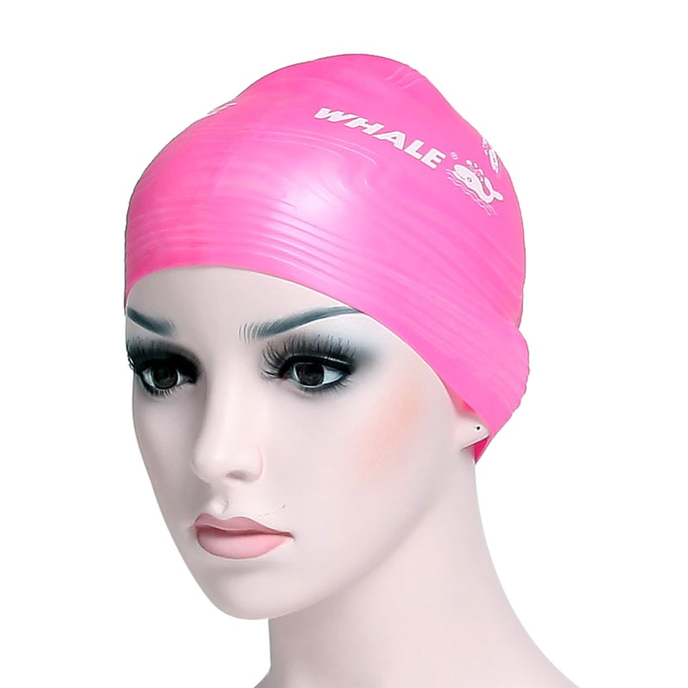Whale Silicone Swimming Cap With Highly Elastic Large Stretch Swimming Caps CAP-900(China (Mainland))
