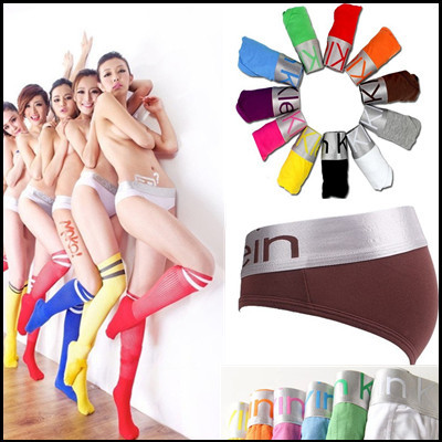 5pcs/lot Wholesale Womens Sexy Lingerie Cotton Shorts Women Underwear Briefs Underpant Woman Panties Free Shipping(China (Mainland))