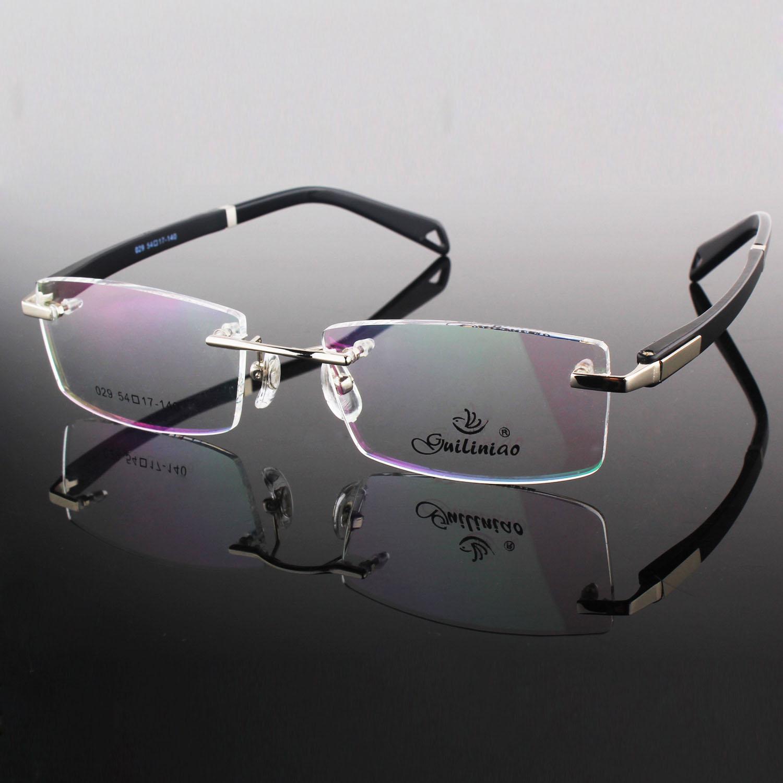 Designer Ladies Rimless Glasses www.panaust.com.au