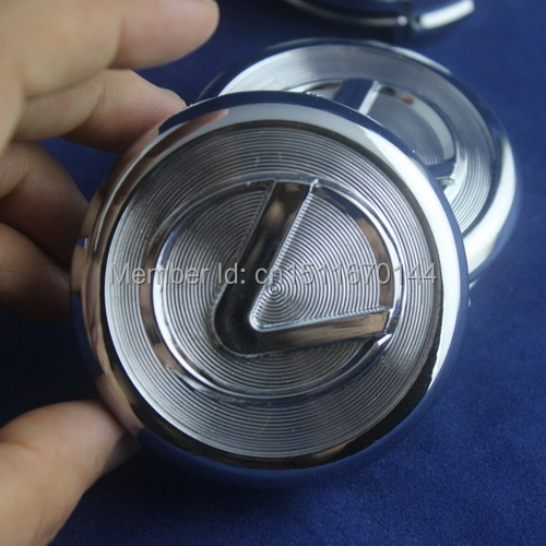 4x 62mm Chrome Lexus Wheel Center Hub Caps Logo fit RX300 RX330 RX400H ES240 GS300NEW IS300 ES330 GS300, 430 LS430 RX350(China (Mainland))