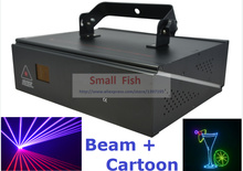 DMX ILDA 2D Multi Color 1W RGB Beam Animation Laser Light DJ Lights Stage Lighting Laser