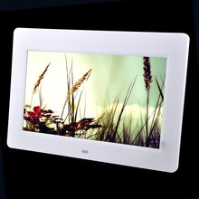 10.1 Inch Digital Photo Frame HD TFT-LCD Full-view Retrato Electronic Alarm Clock Slideshow Calendar MP3 MP4 Movie Player